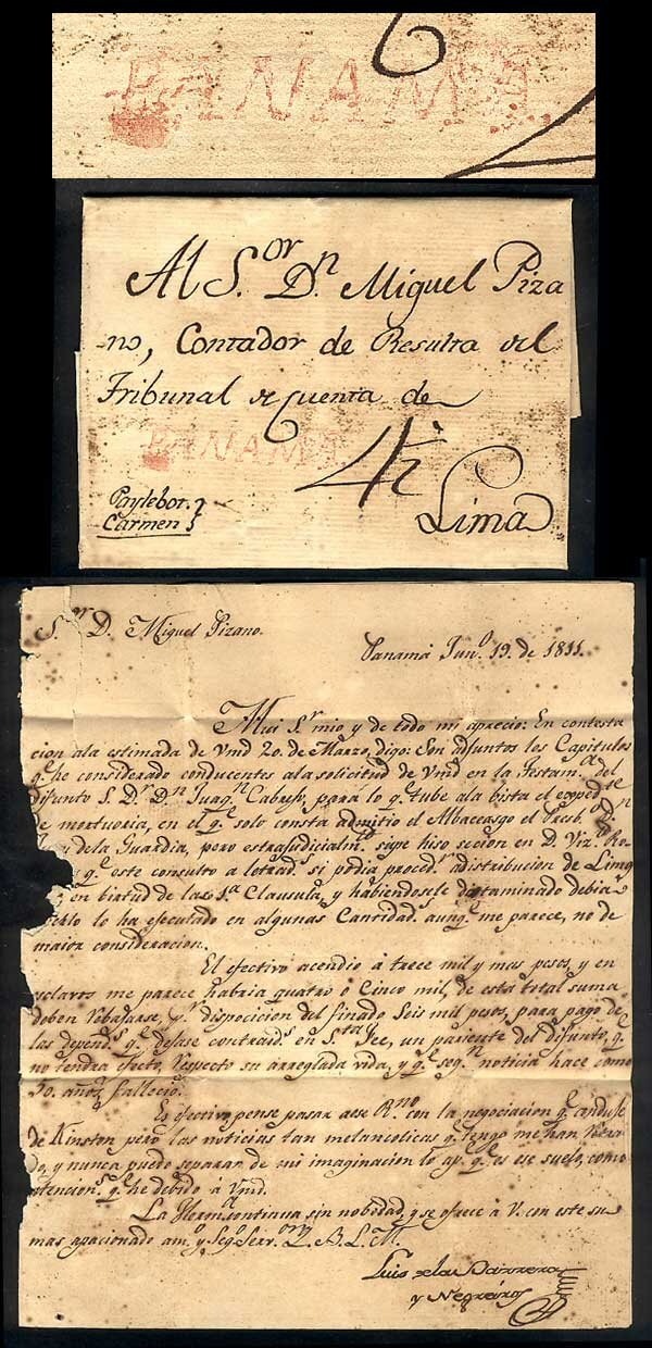 1811 Colonial Mail